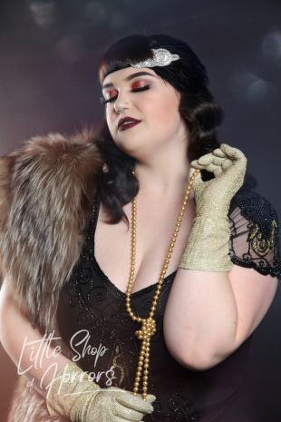 Flapper Roaring Twenties 1920s Costume - Little Shop of Horrors Costumery - Costume Hire Shop - Mornington Frankston Melbourne Victoria Australia