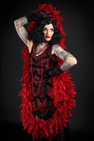 Roaring Twenties 1920s Flapper Costume from Little Shop of Horrors Costumery Morning