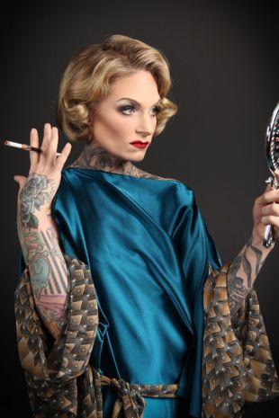 Marlene Dietrich 1930s Costume - Little Shop of Horrors Costumery - Costume Hire Shop - Mornington Frankston