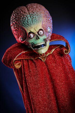 Mars Attacks Martian Ambassador Costume -Tim Burton- Little Shop of Horrors Costumery - Mornington Peninsula Frankston Langwarrin Cranbourne Melbourne