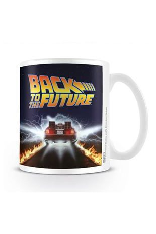 Back to the Future Outta Time Coffee Mug