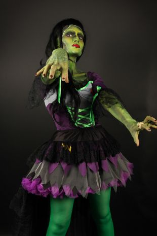 Miss Frankie Costume - Little Shop of Horrors Costumery - Costume Hire Shop - Mornington Frankston
