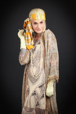 Miss Clara Bow Roaring Twenties 1920s Costume - Little Shop of Horrors Costumery - Costume Hire Shop - Mornington Frankston Melbourne Victoria Australia
