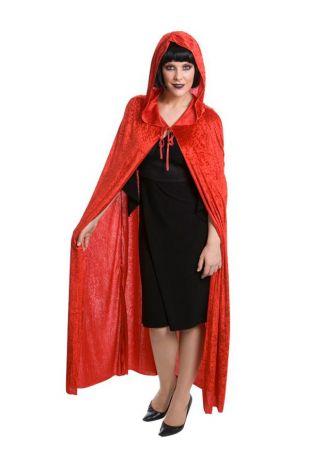 Vampire Black Velvet Cape Halloween Costume