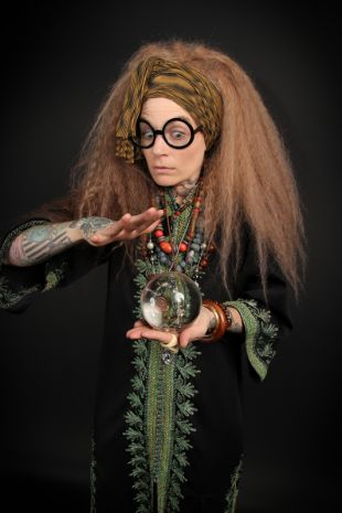 Professor Trelawney Costume Hire - Harry Potter Costumes - Little Shop of Horrors Costumery - Costume Hire Shop - Mornington Peninsula, Frankston, Melbourne, Victoria