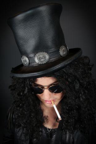 Slash Guns n Roses 80s Costume - Costume Shop Melbourne Costume Hire Mornington