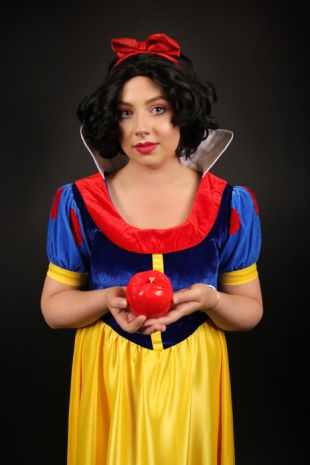 Snow White Costume Hire - Disney Snow White Costume- Little Shop of Horrors Costumery - Costume Hire Shop - Mornington- Frankston- Langwarrin- Cranbourne- Melbourne