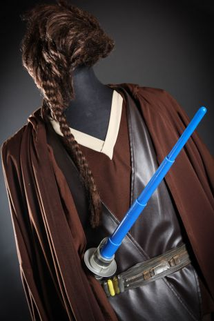 Anakin Skywalker available to hire now fro Disney Lucasfilms Star Wars Universe -  A young Jedi Knight uses The Force at the best costume hire shop in Mornington Frankston Melbourne-