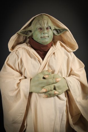 Star Wars Yoda Deluxe Costume Hire - Yoda Costume Hire- Disney Fancy Dress- Little Shop of Horrors Costumery - Costume Hire Shop - Mornington Frankston Melbourne Victoria
