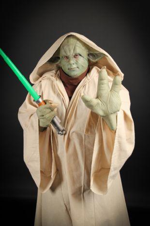 Star Wars Yoda Deluxe Costume Hire - Yoda Costume Hire- Disney Fancy Dress- Little Shop of Horrors Costumery - Costume Hire Shop - Mornington Frankston Melbourne Victoria