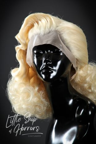 Vintage Styled 1930s 1940s Lace Front Wig
