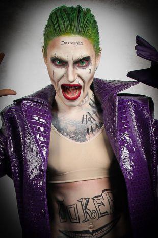 Suicide Squad Joker Replica Costume Hire - Little Shop of Horrors Costumery Mornington Frankston Melbourne Victoria