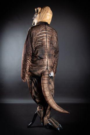 Trex - Jurassic Park - Jurassic World Dinosaur Costume - Little Shop of Horrors Costumery - Costume Hire Shop - Mornington Frankston