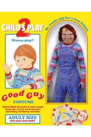 Child's Play 2 - Deluxe Good Guy Costume Adult