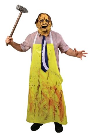 The Texas Chainsaw Massacre - Costume & Mask Combo Adult