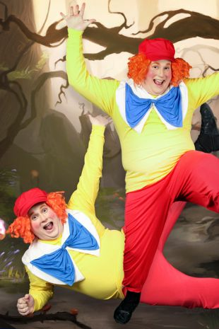 Tweedle Dee & Tweedle Dum Alice in Wonderland Costume - Costume Shop Melbourne Costume Hire Mornington