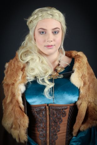 Vikings Lagertha Costume - Costume Shop Melbourne Costume Hire Mornington