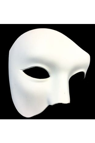 Phantom of the Opera Masquerade Ball Mask available instore or online at Little Shop of Horrors Costumery Costume Shop Mornington Melbourne Victoria Australia