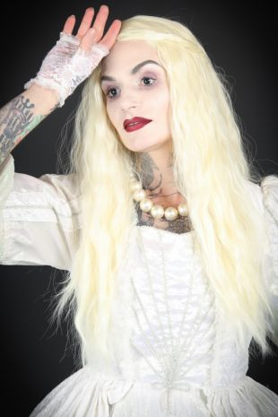The White Queen Alice in Wonderland Costume - Costume Shop Melbourne Costume Hire Mornington