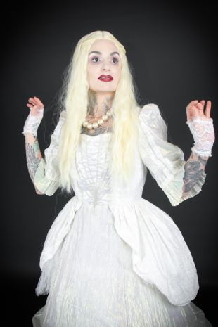 The White Queen Alice in Wonderland Costume - Costume Shop Melbourne Costume Hire Mornington