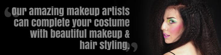 Makeup Artist Salon Hair Stylist Melbourne - Little Shop of Horrors Costumery 6/1 Watt Road Mornington