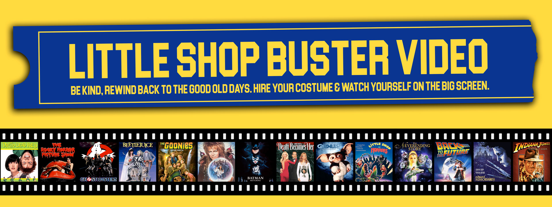 Little Shop Buster Video - Cult Classic Movies