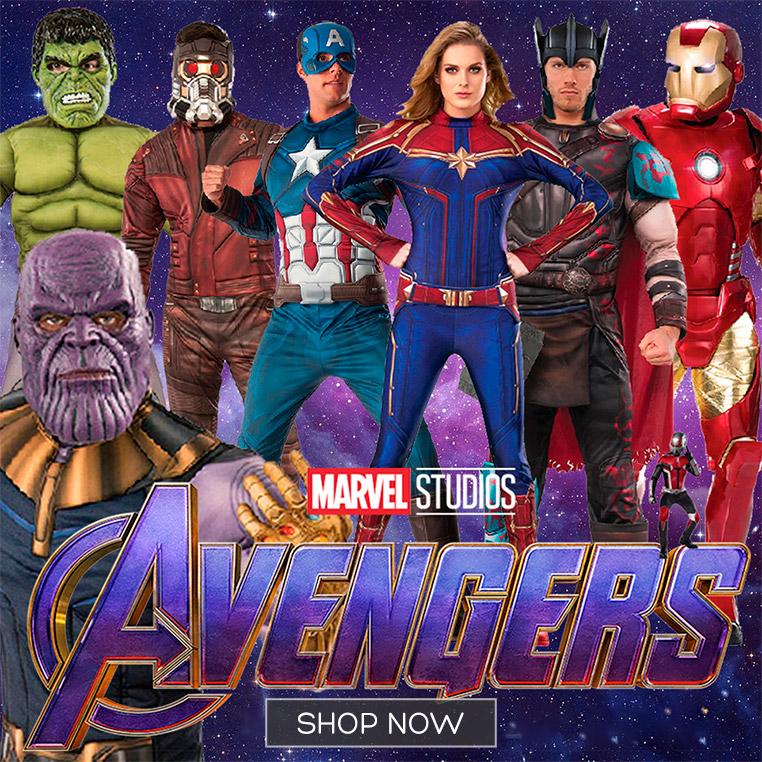 Marvel Avengers Costumes