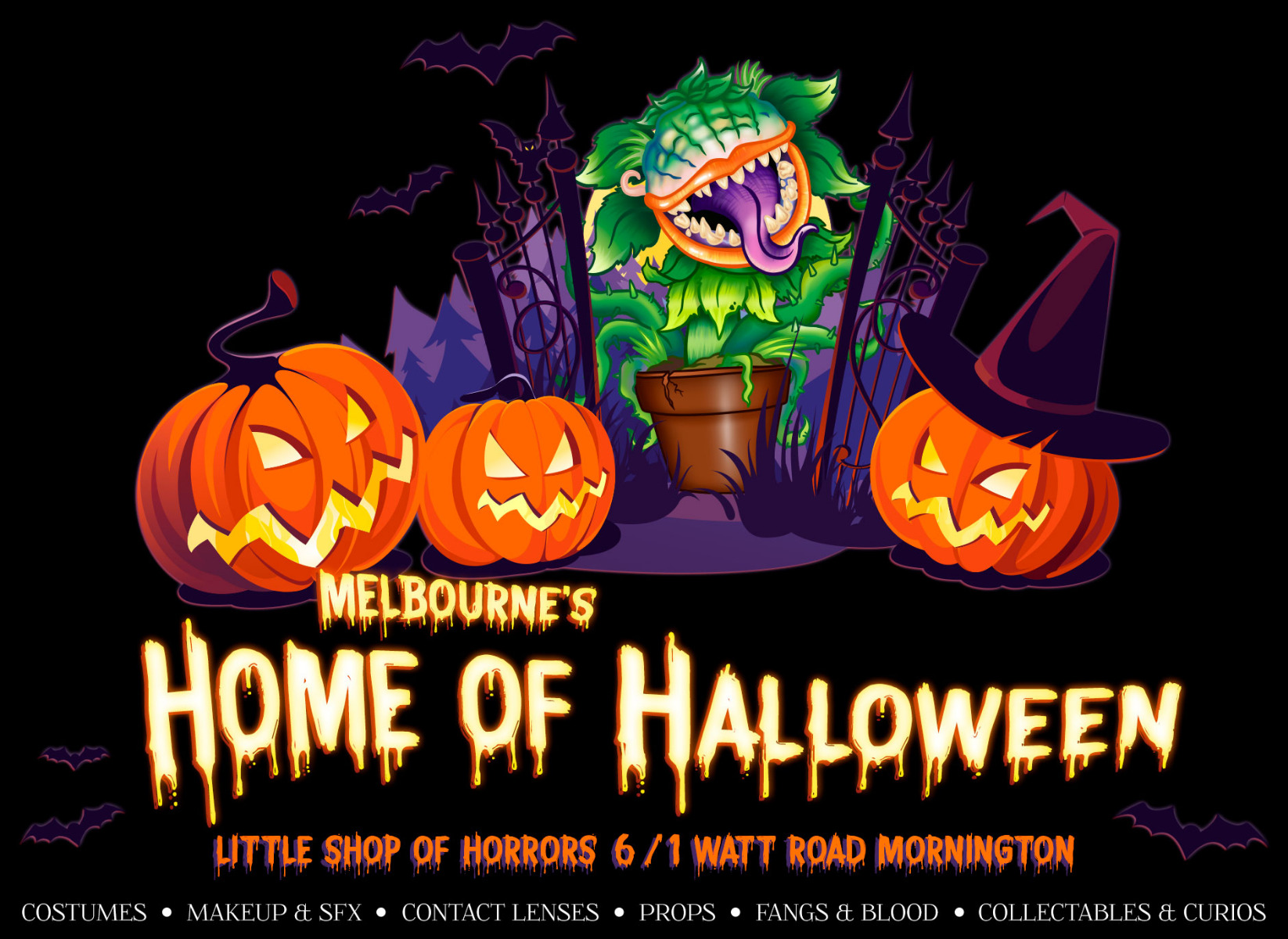 Melbourne's Home of Halloween!