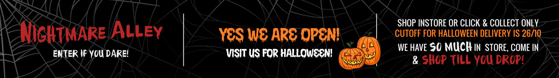 Halloween on the Mornington Peninsula Little Shop of Horrors Costumery