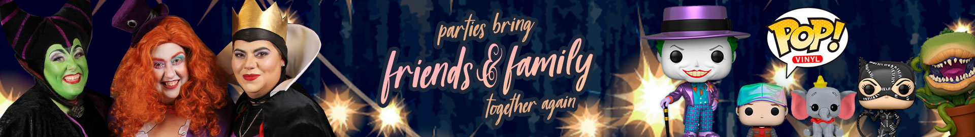 Parties bring friends & family together again