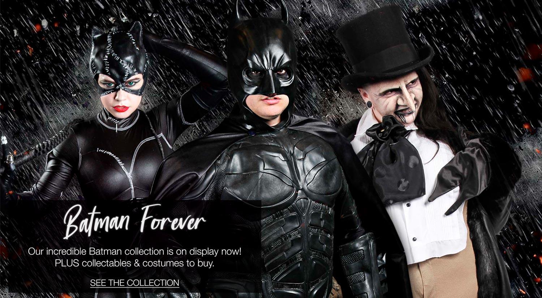 Batman Costume Hire & Collectables
