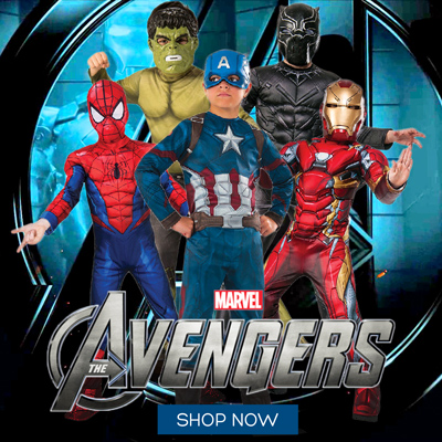 Shop Avengers Costumes at Little Shop of Horrors Costumery