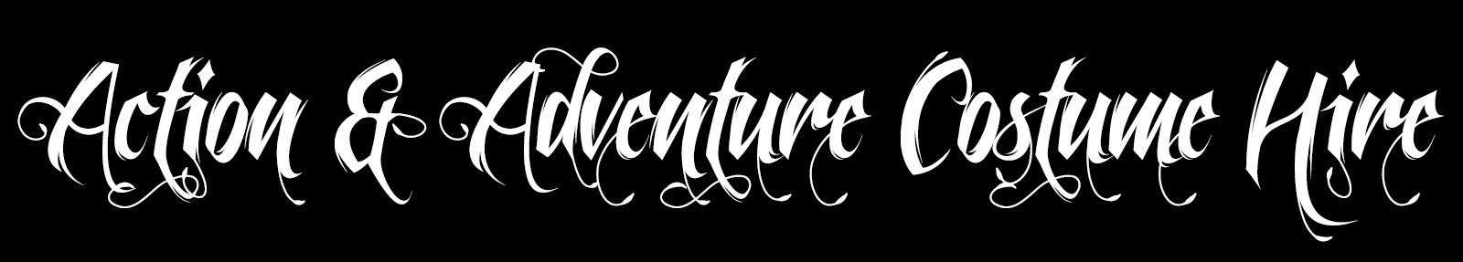 Action & Adventure Costume Hire