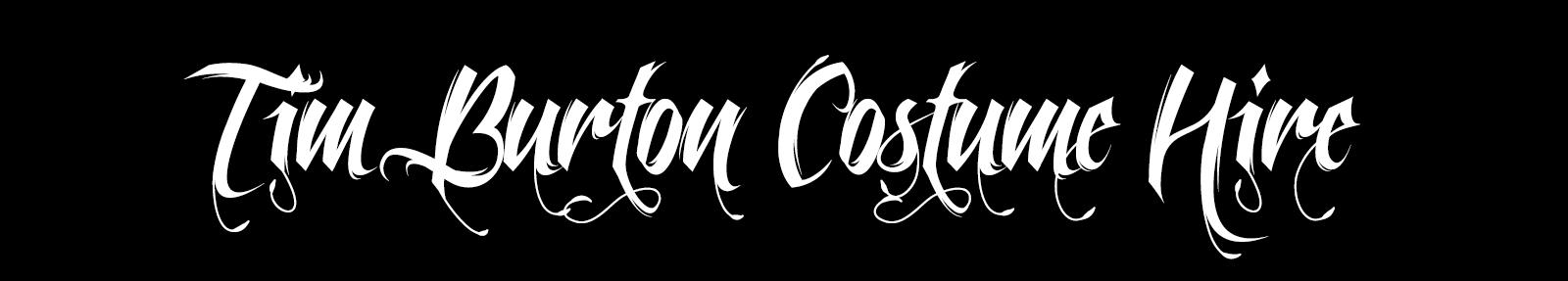 Tim Burton Costume Hire