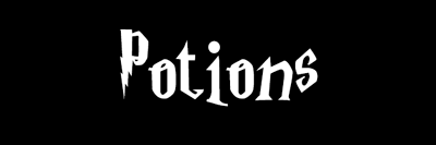 Potions Package - Harry Potter Birthday Parties at Little Shop of Horrors Costumery