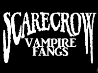 Buy Scarecrow Vampire Fangs at Little Shop of Horrors Costumery