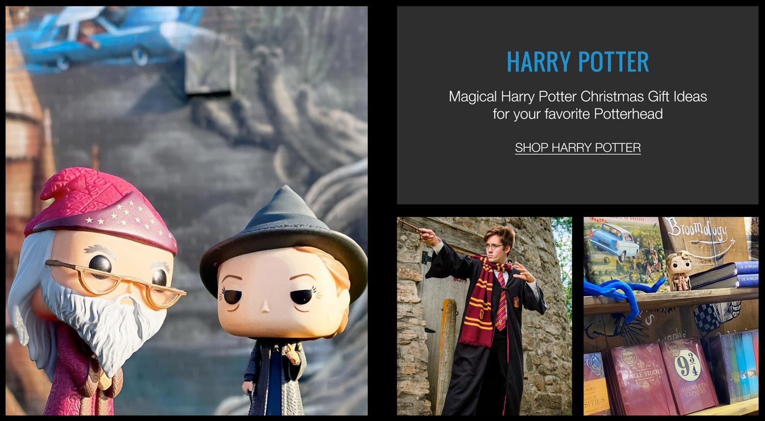 Harry Potter Christmas Gifts Costumes & Pop Vinyl