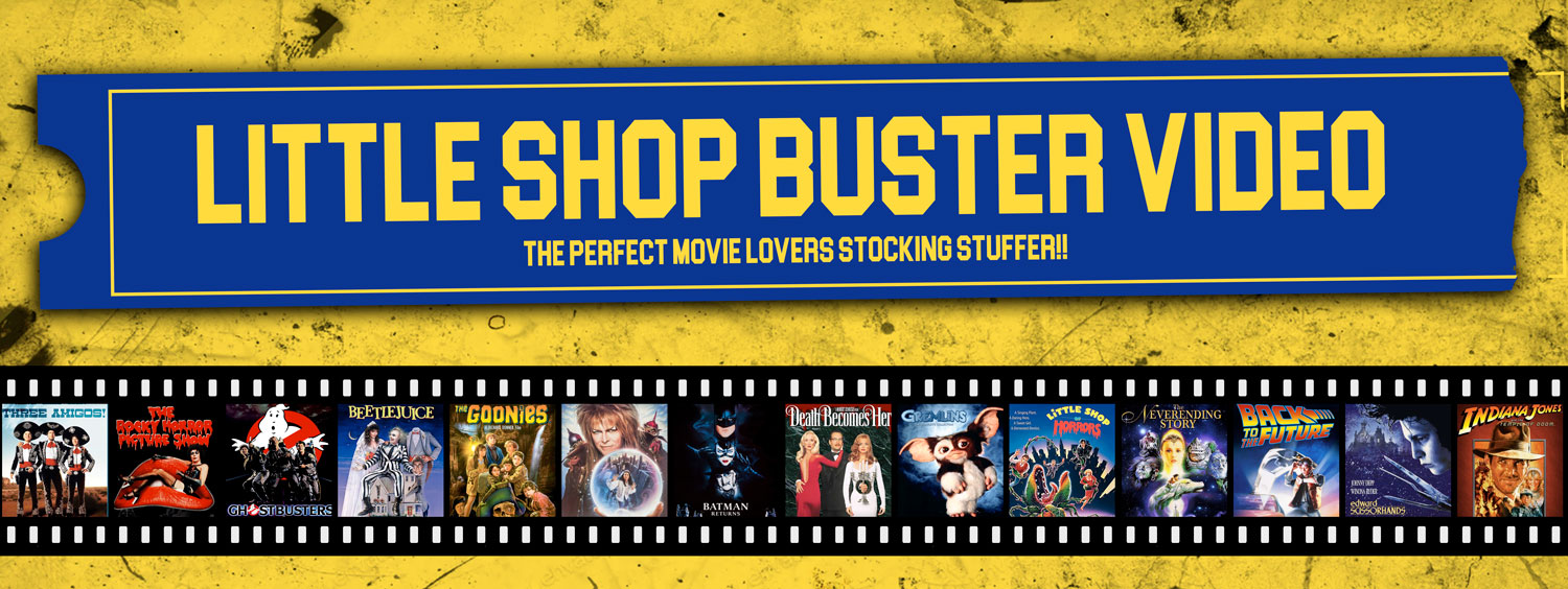 The perfect movie lovers stocking stuffer!