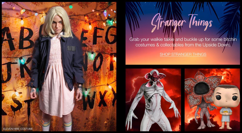 Stranger Things Costumes & Pop Vinyl