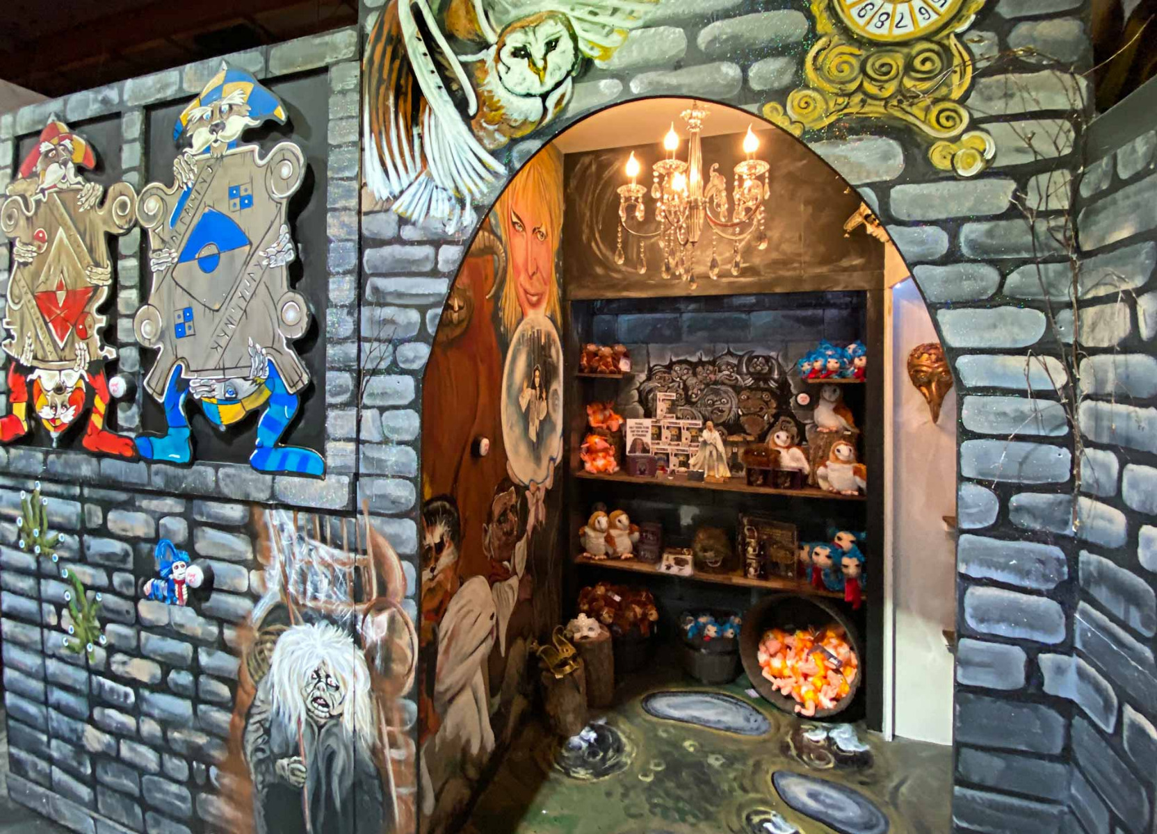 The Labyrinth Room at Little Shop of Horrors Costumery 6/1 Watt Rd Mornington Victoria Australia