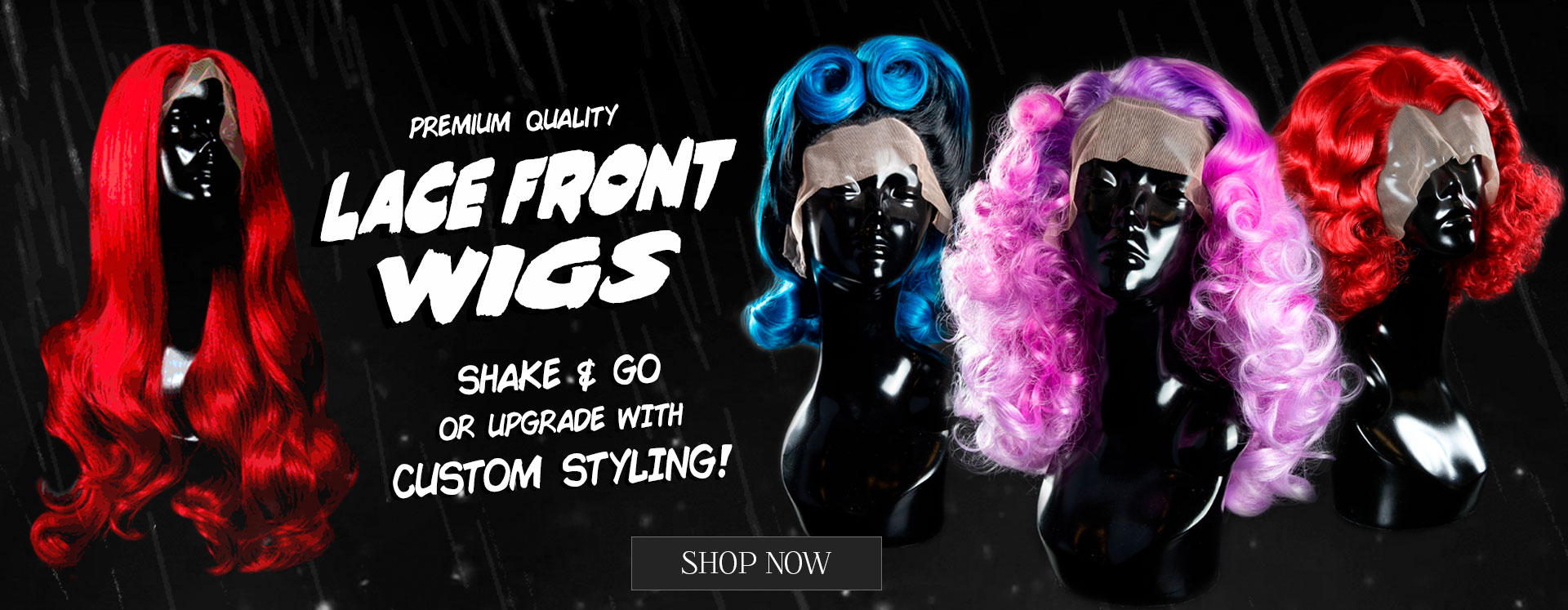Lace Front Wigs - Shake & Go or Custom Styled - Mornington Frankston Melbourne Australia - Afterpay